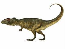Giganotosaurussidoprofil vektor illustrationer