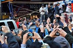 gigantów nowy parady zwycięstwo York Zdjęcie Stock