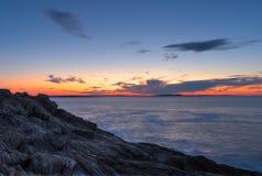 Gigantów schodków wschód słońca Obrazy Stock