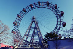 Ferris koło, plociuch, Wiedeń Zdjęcia Stock