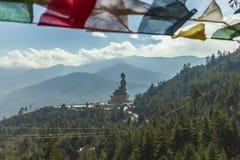 Gigant Buddha, Thimphu, Bhutan fotografia stock