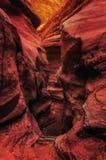 Gigant kołysa w Czerwonym jarze w górach Eilat, Izrael Zdjęcia Royalty Free