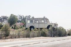Gigant Land Rover przy emiratu samochodu muzeum Zdjęcie Royalty Free