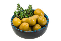 Gigant olives Royalty Free Stock Photography