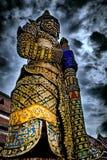 Gigant strażowa statua w tajlandzkiej świątyni zdjęcia stock