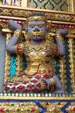 Gigant w świątyni Obrazy Stock
