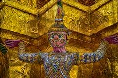 Gigant w świątyni Zdjęcie Royalty Free