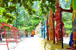 Gigant w świątyni Tajlandia Obrazy Stock