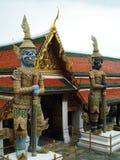 Gigant w Buddyjskiej świątyni Tajlandzki nazwany Yak Obraz Stock