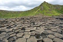 Giganta droga na grobli Ireland, Antrim okręg administracyjny - Północny - Zdjęcie Stock