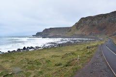 Giganta droga na grobli wybrzeże 01 Zdjęcie Stock