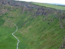 Giganta drogi na grobli, długiego sposobu sceniczna trasa zdjęcie stock