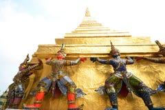 Gigante al prakaew di Wat Fotografia Stock Libera da Diritti