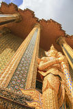 Gigante al tempio verde smeraldo Fotografia Stock Libera da Diritti