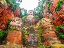 Gigante Buda en Leshan Fotografía de archivo