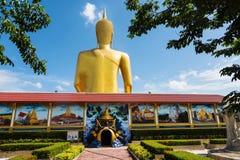 gigante Buda en Wat Bangchak, Nonthaburi Fotos de archivo libres de regalías