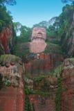 Gigante Buddha de Leshan Imagenes de archivo