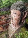 Gigante Buddha de Leshan Foto de archivo libre de regalías