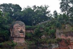 Gigante Buddha di Leshan in provincia del Sichuan in Cina Immagini Stock