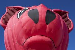 Gigante, cabeza del cerdo que vuela Imagenes de archivo