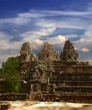 Gigante de Angkor Foto de archivo