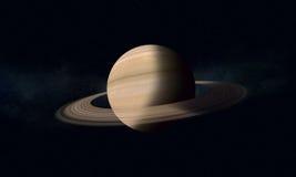 Gigante de gas con los anillos Saturn Fotos de archivo libres de regalías