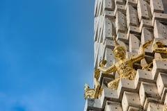 Gigante dorato Fotografia Stock