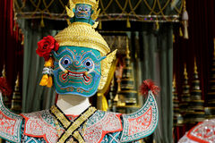 Gigante enmascarado Ravana Fotografía de archivo libre de regalías