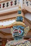 Gigante nel tempio della Tailandia Immagini Stock Libere da Diritti