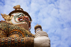 Gigante a Royal Palace Bangkok Fotografia Stock Libera da Diritti
