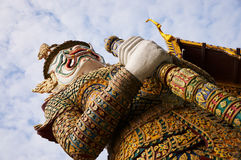 Gigante a Royal Palace Bangkok Fotografia Stock