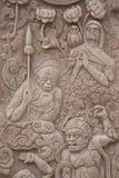 Gigante sulle colonne di pietra. fotografie stock libere da diritti