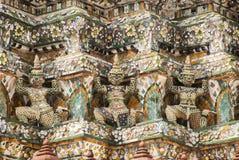 Gigante tailandés del guarda de la escultura Fotos de archivo libres de regalías