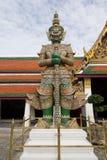 Gigante in tempio Tailandia fotografia stock libera da diritti