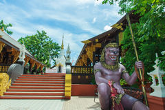 Gigante, templo, misturando-se, escultura Imagem de Stock Royalty Free