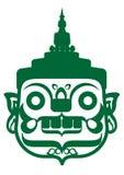 Gigante verde Imagens de Stock Royalty Free