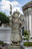 Gigante Wat Pho a Bangkok Tailandia Immagine Stock Libera da Diritti