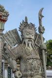 Gigante Wat Pho em Banguecoque Tailândia Foto de Stock Royalty Free