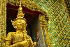 Gigante a Wat Phra Kaew Bangkok, Tailandia Fotografie Stock