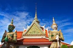 Gigante in Wat tailandese Immagine Stock Libera da Diritti
