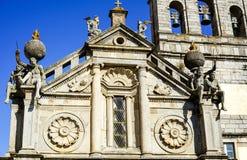 Gigantes da pedra de Nossa Senhora de Gaça Igreja foto de stock royalty free