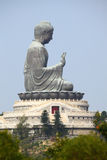 Gigantic buddha statue Royalty Free Stock Photography