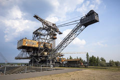 Gigantic excavators in disused coal mine Ferropolis, Germany Stock Photography