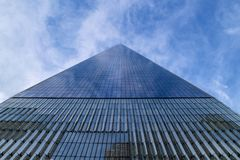 Free Gigantic Glass Skyscraper From Below, New York Royalty Free Stock Photography - 140513937