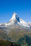 The gigantic Matterhorn Stock Photos