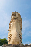 Gigantic Merlion statue Royalty Free Stock Photo
