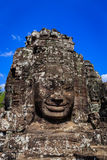 Gigantic Smiling Faces in Bayon Royalty Free Stock Photo