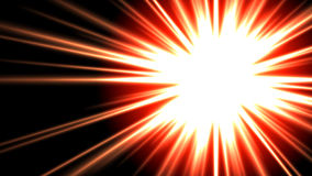 Gigantic Solar Burst 01. Gigantic (29MP) solar explosion in 16:9 ratio with room for copy or graphics Royalty Free Stock Photography