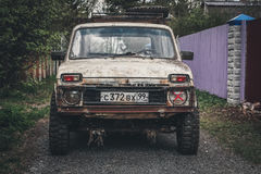 Gigantisk bil Fotografering för Bildbyråer