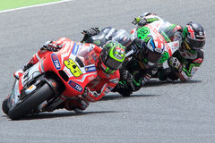 Gigantisk energigrand prix av Catalunya MotoGP Chaufför CAL CRUTCHLOW MotoGP Arkivbilder